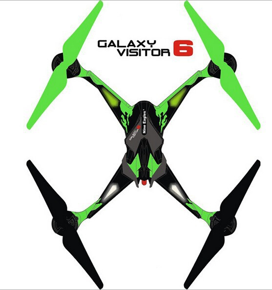 Nine Eagles Galaxy Visitor 6 RTF GV6 RC helicopter with HD Camera FPV Phone Pad WIFI Drone 4CH 6Axis Remote Control Quadcopter<br><br>Aliexpress