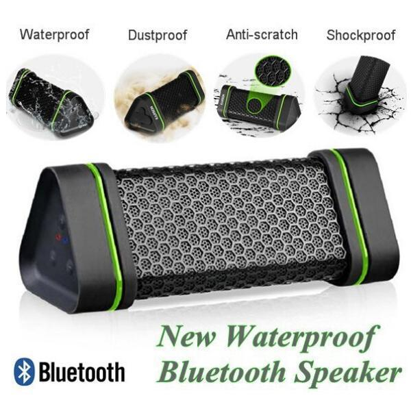 New ER151 Bluetooth Speaker 4W Stereo Audio Sound Box Portable Waterproof Wireless subwoofer Outdoor Sports Speakers With Mic<br><br>Aliexpress