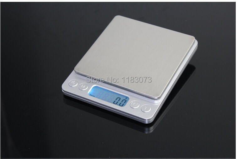 1kg 0.1g Mini Electronic Jewelry Weighting Scale Digital Food Kitchen Bench Floor Weight Balance Coffee Baking Table Scale(China (Mainland))