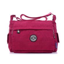 Casual Women Messenger Bags Female Shoulder Bag High Quality Crossbody Bags for Women Handbags Nylon bolsos sac a main(China (Mainland))