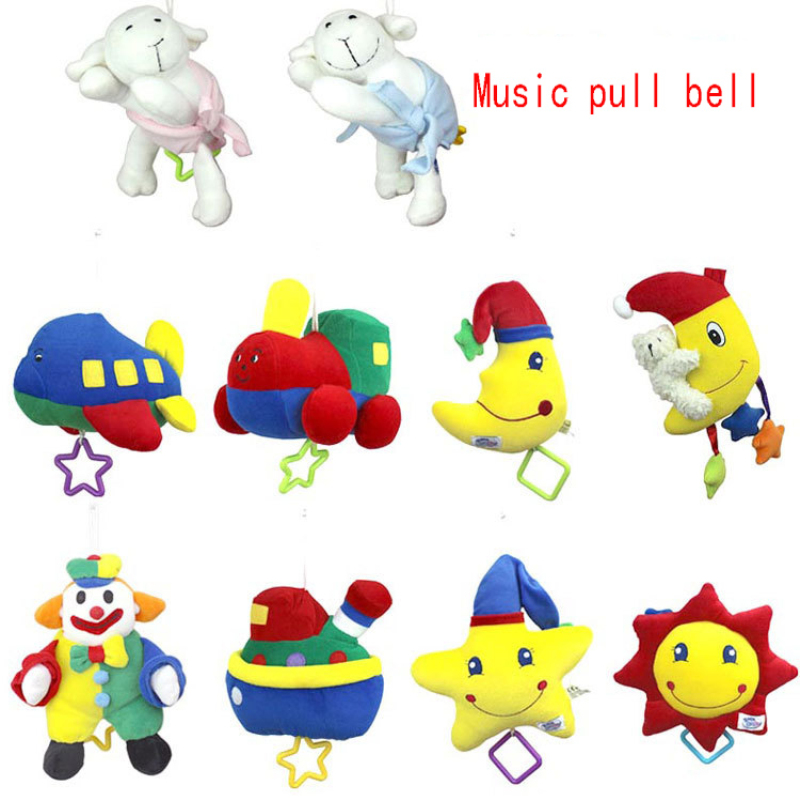 Newborn Toys Baby Music Box Music Sound Toy Lathe Hang A Variety Of Election Baby Hanging Baby Toy Kids Rattles Music For Babys(China (Mainland))