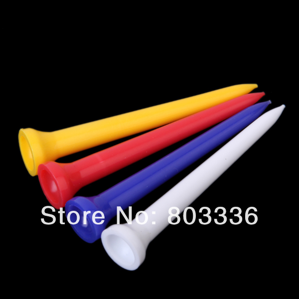 10069mm Random Color Plastic Golf TEES - Michael & Dolphin's Store store