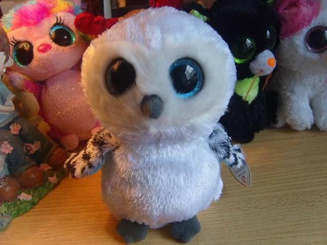 Ти большие глаза плюшевые куклы номера шапочка боос белая сова заклинания