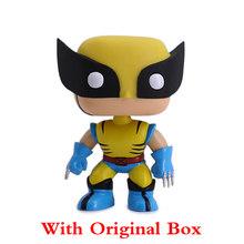 Brinquedo Wolverine Marvel Comic X-Men Wolverine Figura Bobblehead Dey Primavera Cabeça Decoração Do Carro(China)
