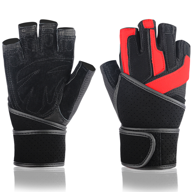 Men's Fitness Gloves Crossfit Barbell Dumbbell Sports Weight Lifting Guantes Workout Training Luvas Musculation Gym Equipment(China (Mainland))
