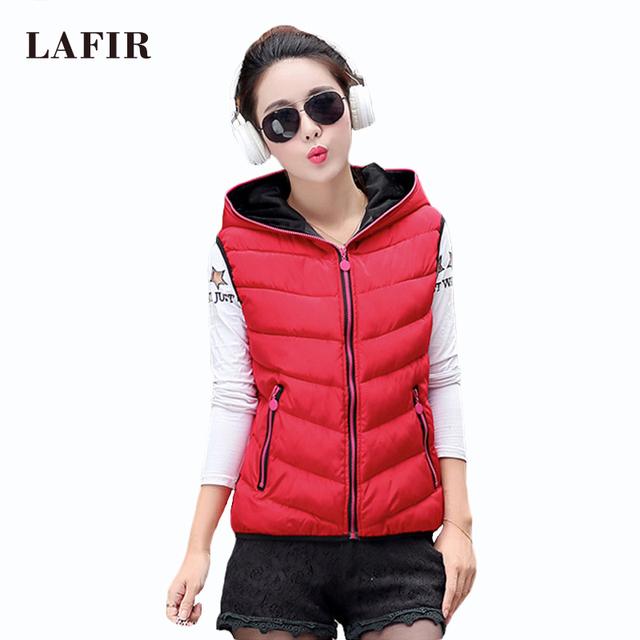 2015 est Модный Женщины Autumn Winter Жилет Талияcoat Ladies Рукавless Jacket Coat ...