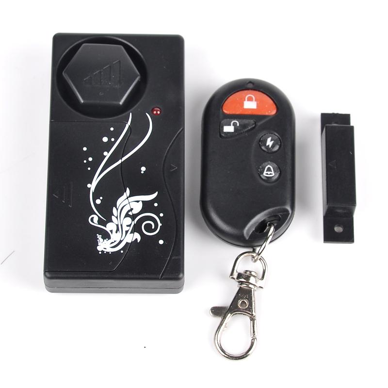 New Smart Window Entry Door Magnetic Sensor Alarm System Home Burglar Anti theft Alarm Sensor Door Bell 20M Remote Control(China (Mainland))