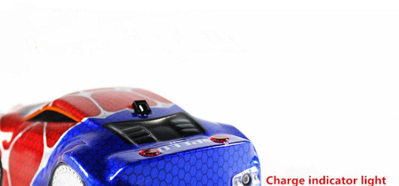 Newiest Remote Control Car Spiderman climbing car with flash Wall Ceiling RC Electric Toys Car Anti Zero Gravity Stunt Car