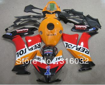 Fairing Kit For Honda CBR1000RR  2012 ABS INJECTION Repsol Design