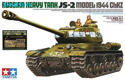 Tamiya 1/35 25146 Russian Heavy Tank JS-2 (Model 1944 ChKZ) Plastic Model Kit