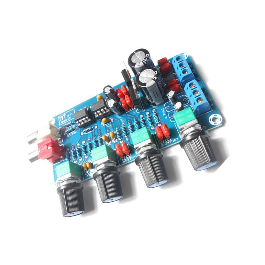NE5532 Front plate Power amplifier front plate kit parts and components diy kit HIFI Enthusiast tone board diy kit(China (Mainland))