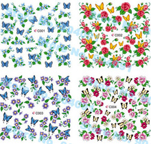 NEW ARRIVAL 79 different  Design , Water decals Nail Art Stickers Full Cover Nail tips sticker For Fashion Finger Beauty Desgin