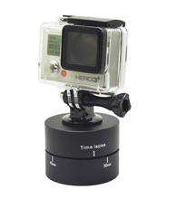 360 Degrees 60min Panning Rotating Time Lapse Stabilizer Tripod for Hero 4 3+ 2 1 GoPros Xiaomi Yi SJ4000 Cameras GP247A