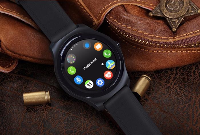 ถูก ร้อนขายหนังแท้ปลุกsiriนาฬิกาจับเวลาบันทึกเสียงพยากรณ์อากาศq2บลูทูธ4.0 smart watchที่มีสิริปลุก