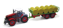 1:28 Multifunctional trailer tractor RC truck big engineering  toy for kids(China (Mainland))