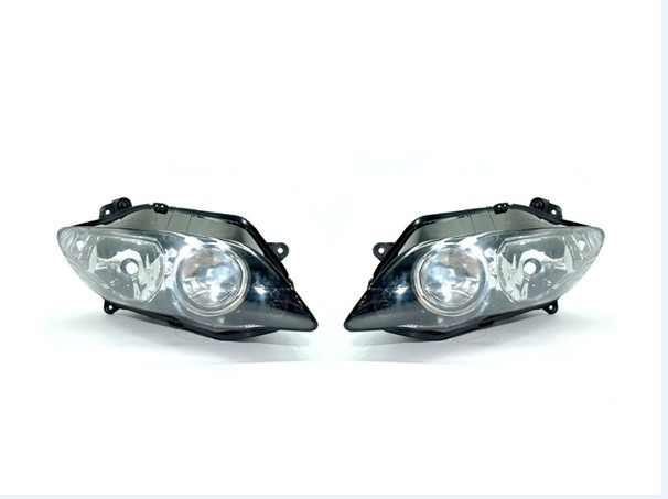 100% brand new Motorcycle  Smoke cover motorcycle head lamp/Headlight for YZF R1 04-06<br><br>Aliexpress