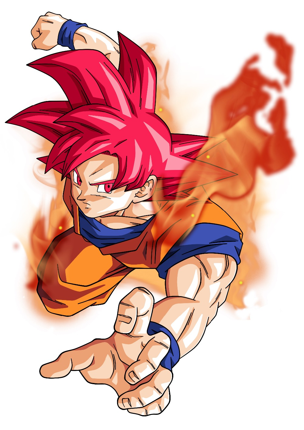 dragon ball z gt goku cool Art Silk Poster 24