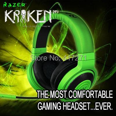 Free Shipping Razer Kraken Pro Gaming Headset, Original & Brand New, Without Retail Box, Fast& Free shipping, In stock.