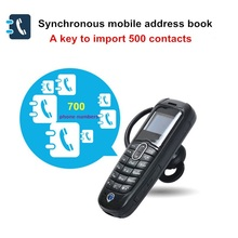 High Quality 3 Color Worlds Small Mini Tiny Mobile Phone Tiny Slim Unlocked Bluetooth Headset Dialer (China (Mainland))