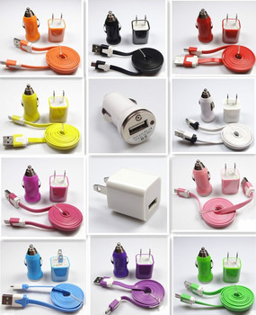 Free postage ! 20x wall Car Charger Micro USB Cable for Samsung Galaxy S2 S3 S4 HTC B08