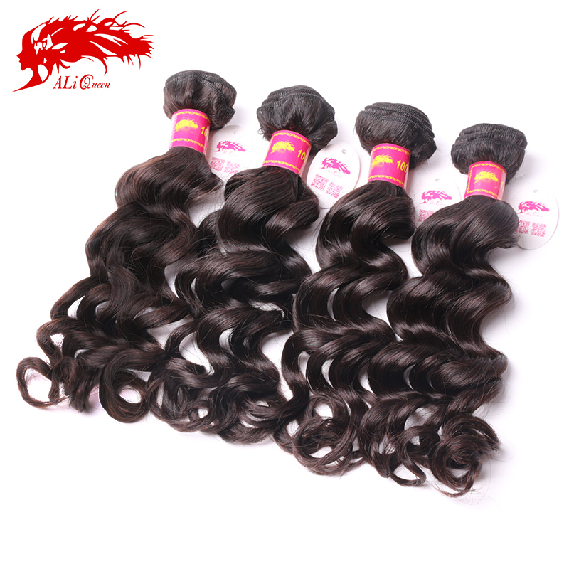 Brazilian Weave 4 bundles 100% unprocessed virgin Brazilian human hair weave Natural wave or More Wave(China (Mainland))
