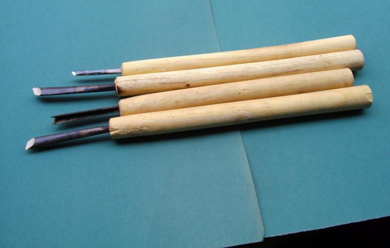 Хорошая отделка для заточки ножей типа V-треугольник нож Донгянг зубило резьбой бамбук лиственных пород красное дерево разделочный нож гравер мануа