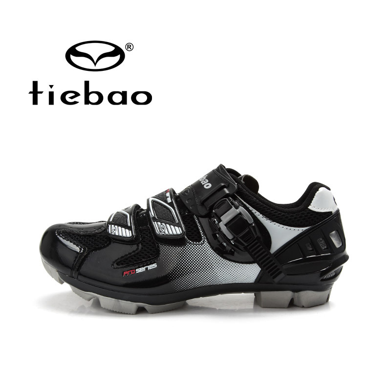 TIEBAO Professional Bicycle Nylon-fibreglass Sole Shoes Breathable MTB Cycling Men Women Mountain Bike Self-locking - Top-touch Technology Co.,Ltd store