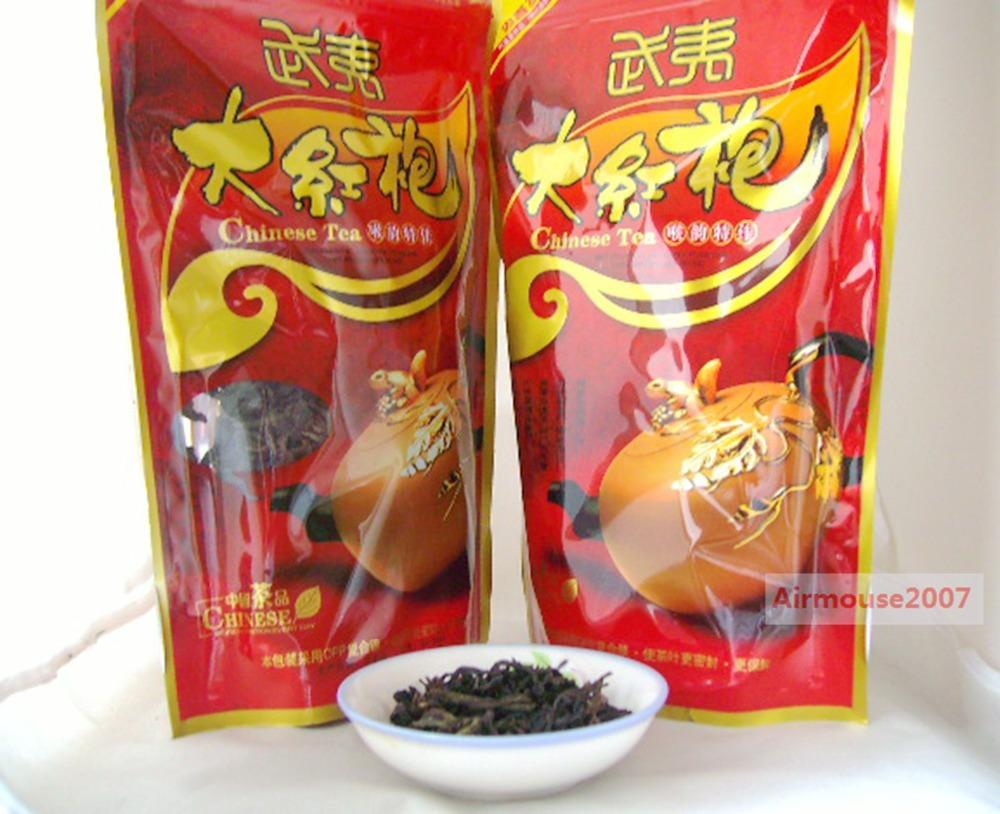 200g Top Fragrance Da Hong Pao Big Red Robe Wuyi China Oolong Tea Origin(China (Mainland))