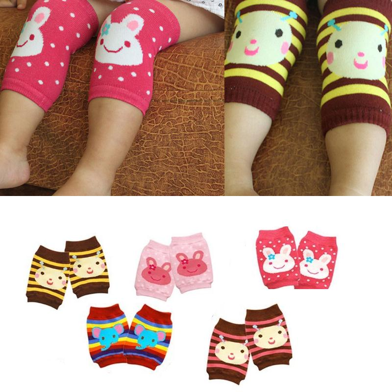 Baby Safety Crawling Elbow Cushion Infants Toddlers Knee Pads Protector Leg Warmers Animal Legs Leggings Kids Socks Sports Knee(China (Mainland))