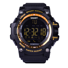 Buy EX16 Xwatch Waterproof IP67 Smart Watch Sports Bluetooth 4.0 Remote Camera 24 hours real-time sport monitoring IOS Androi for $18.99 in AliExpress store