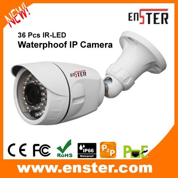 Enster 720P HD IP66 Waterproof Bullet Camera Surveillance Product 30M Illuminate Distence CCTV IP Camera NST-IPH6481(China (Mainland))