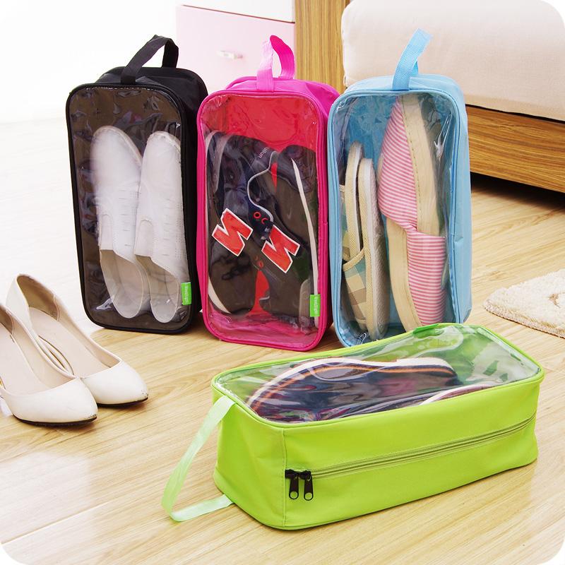 Windows Travel Shoe Storage bag Multi Oxford Shoes Organizer Shoebox Waterproof Dustproof Shoe Bags D106(China (Mainland))