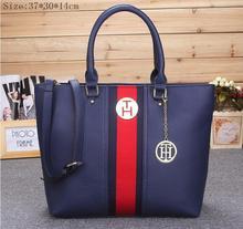 Hot selling classic fashion handbags big bag 2015 new PU shoulder bag lady tide bulk shopping bag(China (Mainland))