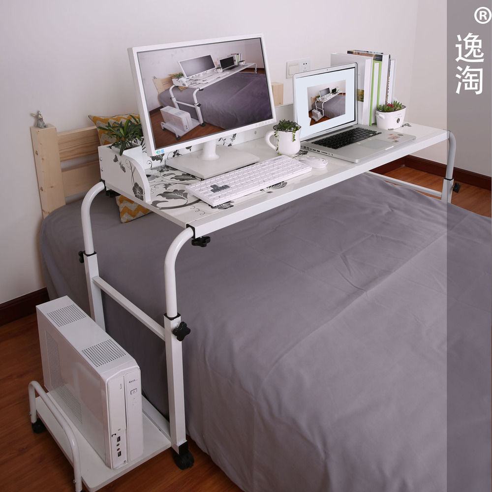 Amoy Plaza double bed lounger bed with Ikea puter desk