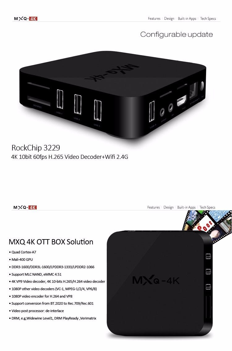 Tronsmart MXQ-4K RK3229 Smart Android TV Box 202098 10