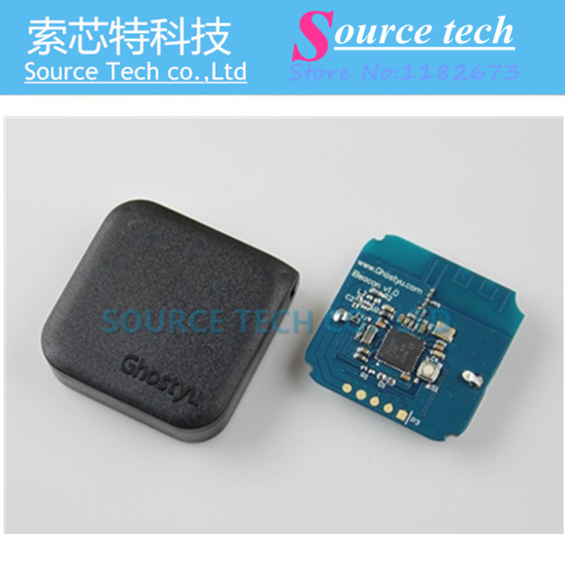 Гаджет  FREE SHIPPING 1PCS GhostyuBeacon IBeacon Base Station Low Power Consumption Bluetooth 4.0 Module CC2541  None Электронные компоненты и материалы