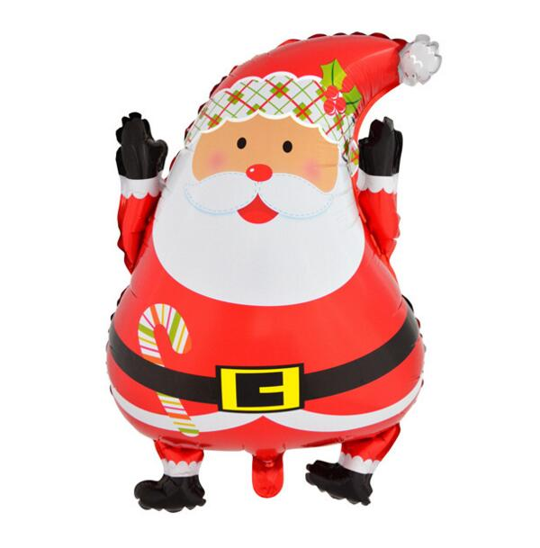 Red Santa Claus Father Christmas balloon party foil balloons Party Decoration(China (Mainland))