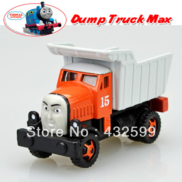 Free Shipping Brand New Thomas & Friends The Train Toys The Dump Truck Max Diecast Metal Train Toy Loose In Stock(China (Mainland))