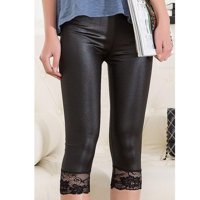 Knee Length Capri Leggings