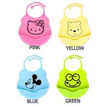 2016 Hot design Baby bibs waterproof silicone feeding baby saliva towel wholesale newborn cartoon waterproof aprons Baby Bibs