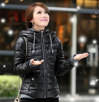 Women winter jacket Slim fit down jacket new winter long-sleeved hooded padded jacket coat short sections women jacket DM961Одежда и ак�е��уары<br><br><br>Aliexpress