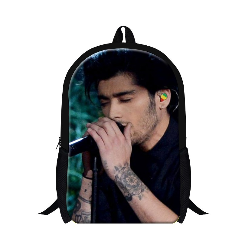 Fashionable One Direction school backpacks for primary students,designer bookbags for children,cool man's travling bag