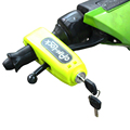 Newest Universal Motorcycle Scooter Handlebar Safety Lock Brake Throttle Grip Security Lock Motorbike anti theft Protection