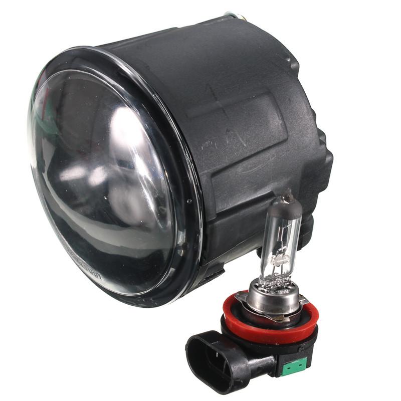 Overvalue 2pcs Car Light Source Driver Passenger Sides Fog Light Lamps w/ H11 Halogen Bulbs For Nissan For Infiniti