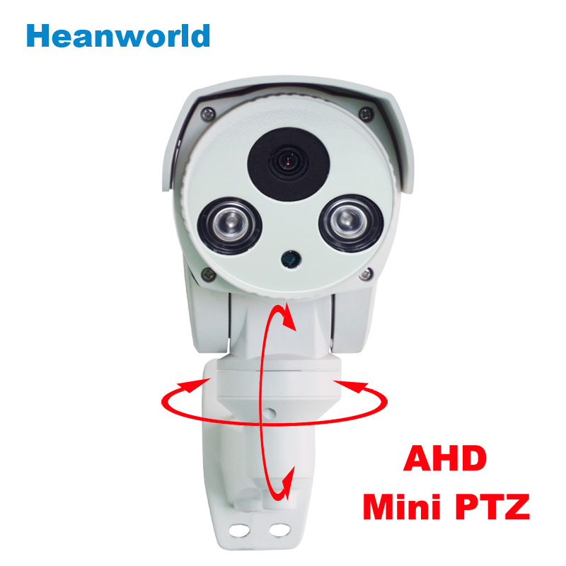 AHD Mini PTZ Camera Pan/Tilt 720P Rotary Bullet camera with 6mm lens Night Vision outdoor waterproof CCTV security camera system<br><br>Aliexpress