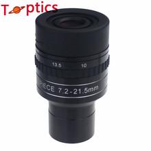 7.2 – 21.5 mm 1.25 pulgadas Zoom del ocular para telescopio mayor calidad Premeier astronómico telescopio profesional