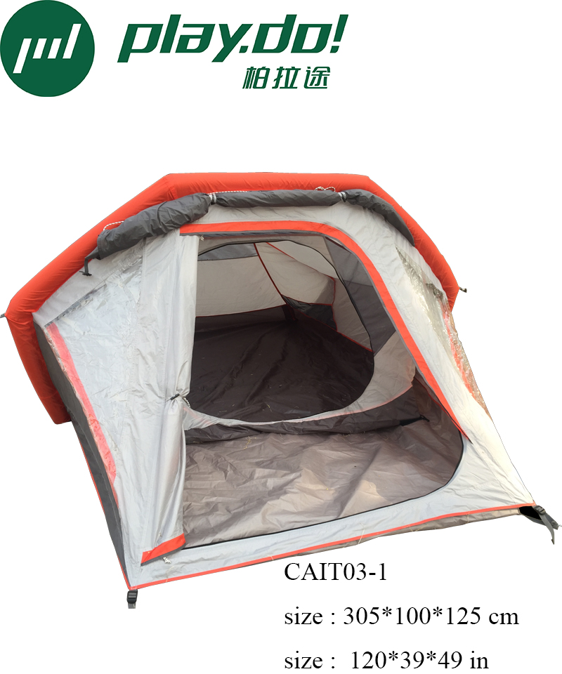 Playdo Inflatable Camping Tent For Outdoor Activities party Waterproof Tent For 2 Person factory brand Customized allow bargain(China (Mainland))