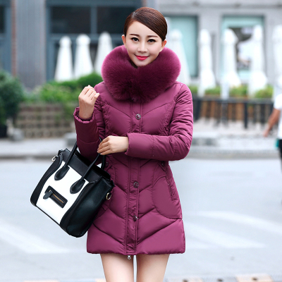 2015 new Korean style winter coat women parka fashion slim ladies coats mother clothing plus size L-4XL DX535Одежда и ак�е��уары<br><br><br>Aliexpress