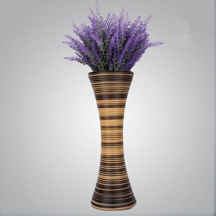 home Decorative Crafts home decoration living room european-style flower vase size:15*41.5cm()