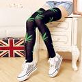 1 Pair Women Female Spring 3D Cartoon Animal Bear Face Pattern Thigh Stockings Stylish Over Knee High Socks#24585/#24586